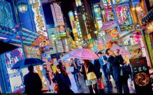 Kabuki-cho, a red light district in Shinjuku, Toyko