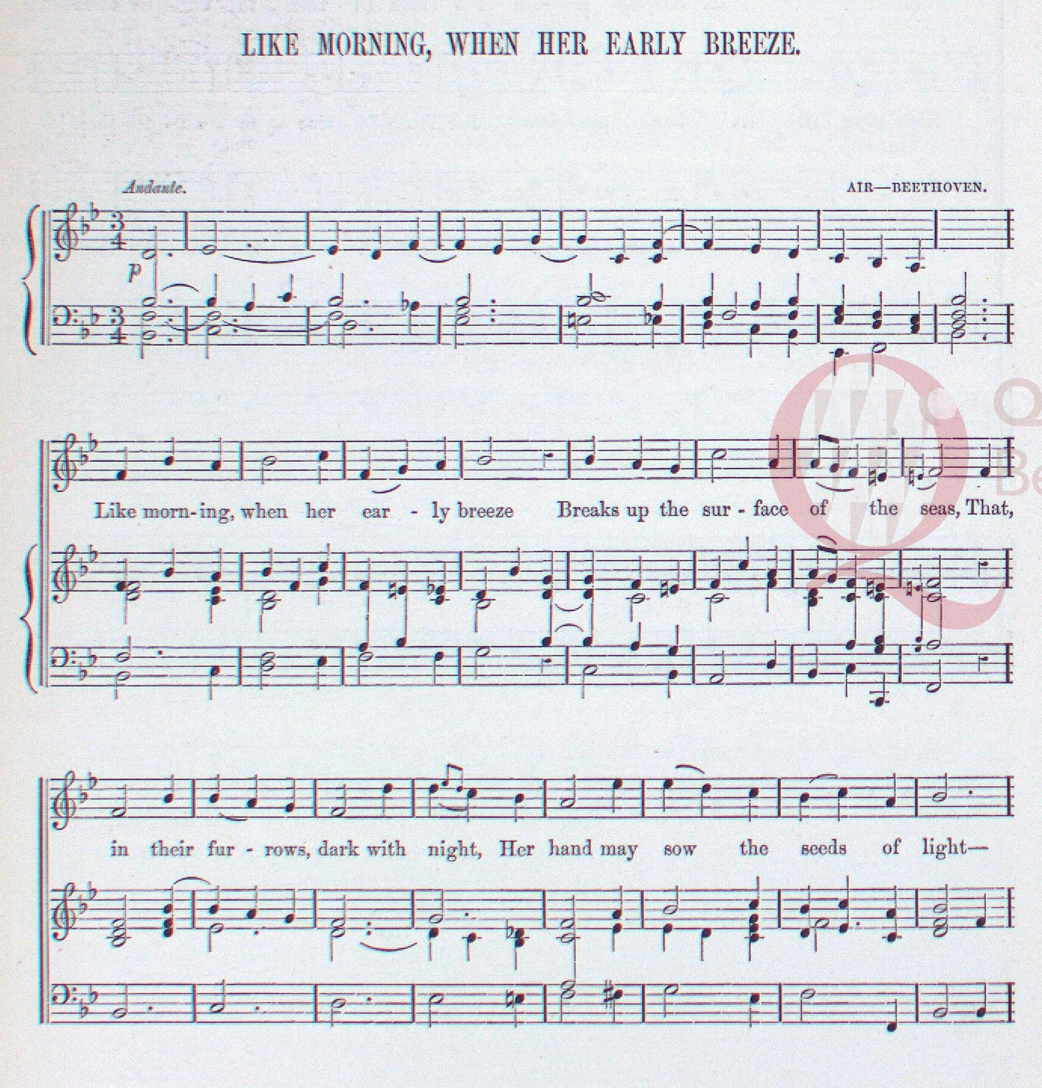 Songs – Thomas Moore in Europe