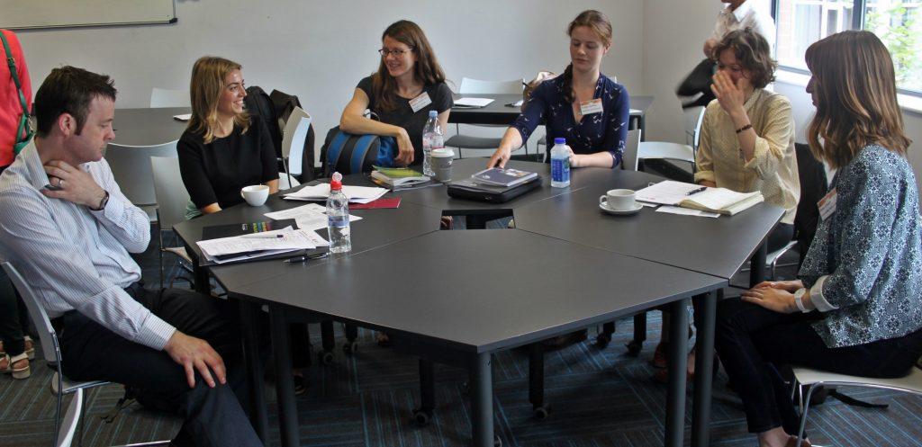 Raymond Gormley (Bryson Energy), Nagore Sabio (UCL), Megan McMichael (UCL), Kirsten Jenkins (University of St Andrews), Felicity Davies (UCL) & Rose Chard (Lancaster University)