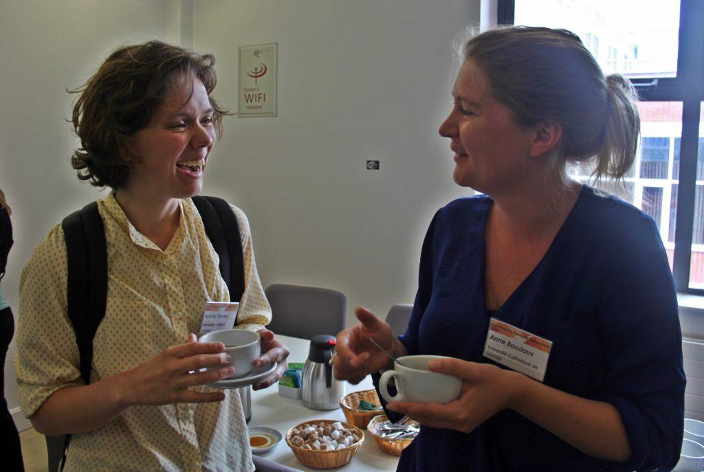 Felicity Davies (UCL) & Anne Baudaux (University of Louvain)