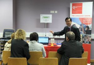 Learn at Work language taster session