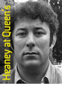 Heaney at QUB