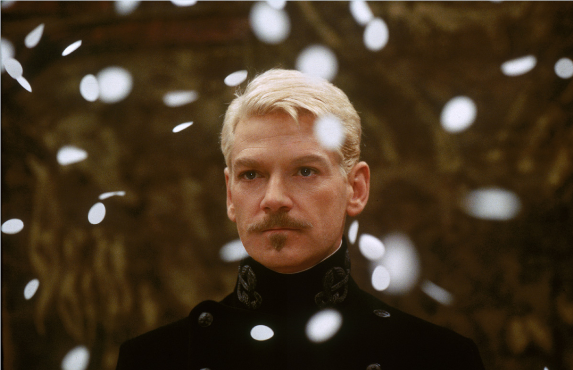 11.Kenneth Branagh in Hamlet (1996). © Warner and Park Circus
