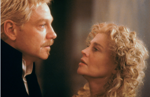 Kenneth Branagh and Julie Christie in Hamlet (1996). © Warner and Park Circus