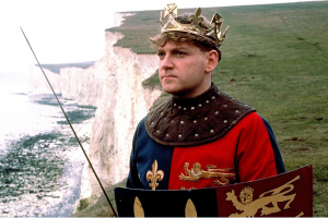 Kenneth Branagh in Henry V (1989). ©Exclusive Media and Park Circus