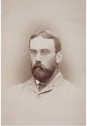 Guy Hillier, c. 1886 Hillier Collection