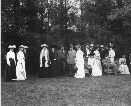 Garden Party of Sir Robert Hart, ?1906. QUB MS 15.6 Part 9
