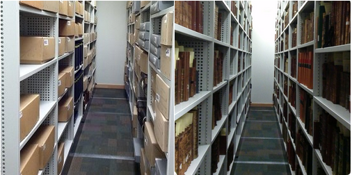 Behind the scenes in the Special Collections' store