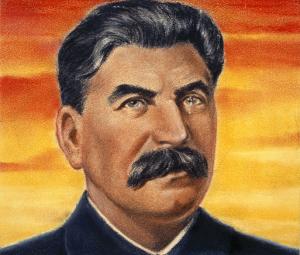 Propoganda poster of Joseph Stalin