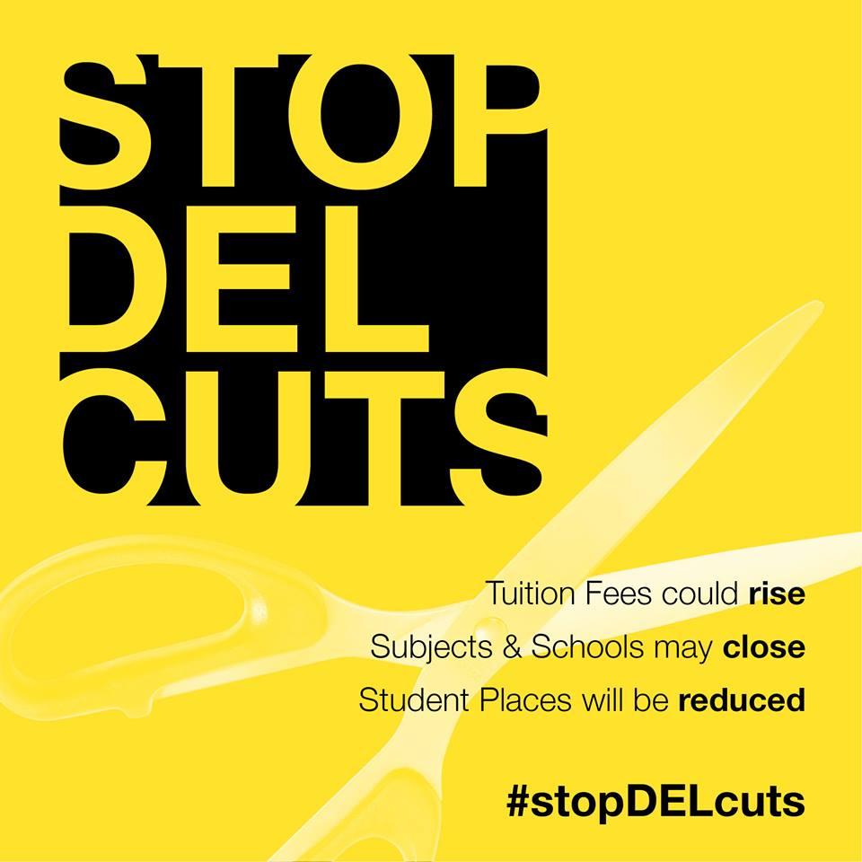 DEL cuts graphic